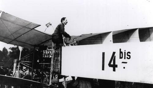 Alberto Santos Dumont, inventor e patrono dos 'fazedores' do amanhã.